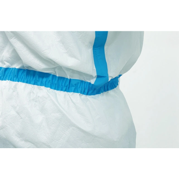 PE Disposable Medical Isolation Protective Clothing in Stock